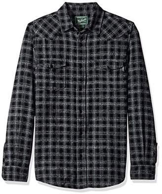 Woolrich Men's Southfield Space Dye Flannel Shirt Modern Fit