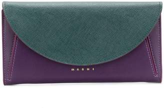 Marni foldover top wallet