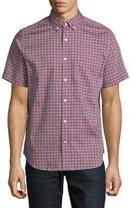 Nautica Plaid Woven Sport Shirt