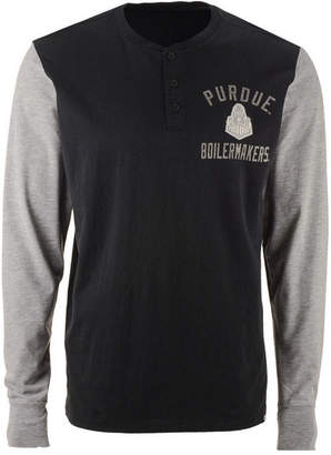 '47 Men's Purdue Boilermakers Downfield Henley T-Shirt