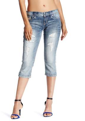 c9ce8acdf216b Rock Revival Vivian Slim Fit Crop Jeans
