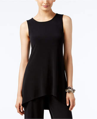 Alfani Sleeveless High-Low Tunic, Created for Macy's $49.50 thestylecure.com