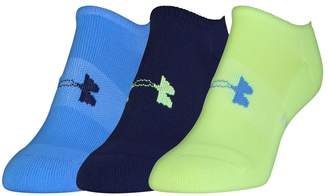 Under Armour Women's 3-pk. Athletic Solo Low-Cut Socks