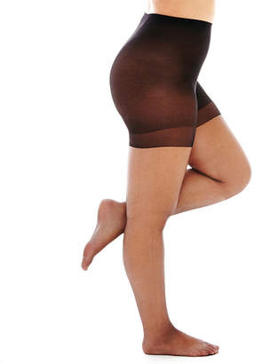 JCPenney BERKSHIRE HOSIERY Berkshire Shimmers Control Top Panyhose- Queen-Petite