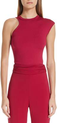 Cushnie et Ochs Asymmetrical Knit Top