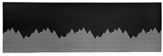 East Urban Home Mountain Pattern Poly Chenille Rug East Urban Home