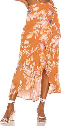 Song of Style Kaia Midi Skirt