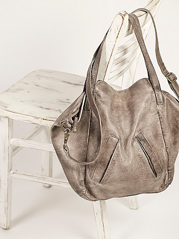 Lucca Washed Leather Tote by Free People