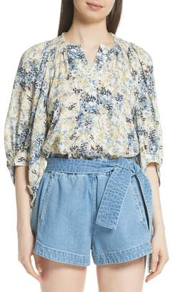 Apiece Apart Everlasting Puff Sleeve Blouse