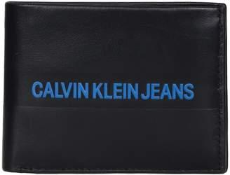 Calvin Klein Jeans Portafogli Logo Stripe W Coin
