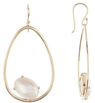 Ippolita Rock Candy 18k Yellow Gold Small Suspension Mother Of Pearl Earrings