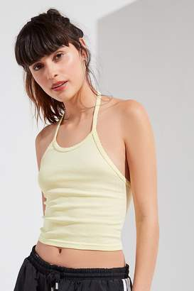 Out From Under Drop Needle Halter Tank Top