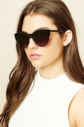 FOREVER 21+ Classic Cat Eye Sunglasses $5.90 thestylecure.com