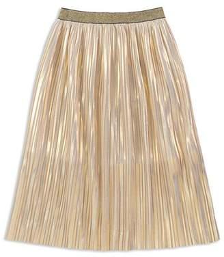 Kate Spade Girls' Pleated Iridescent Skirt - Big Kid