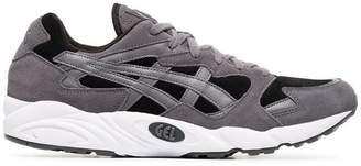 Asics grey, black and white gel diablo sneakers