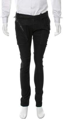 Rick Owens Aircut Coated Skinny Pants