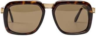 Cazal Brown Plastic Sunglasses
