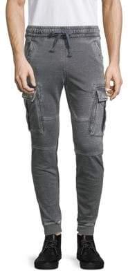 Jet Lag Burnout Cargo Jogger Pants