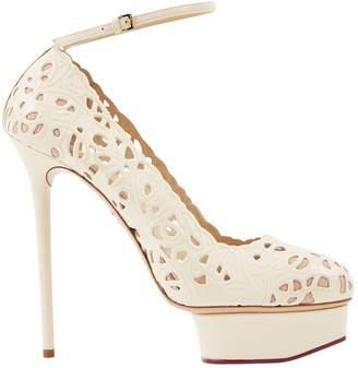 Charlotte Olympia Leather heels