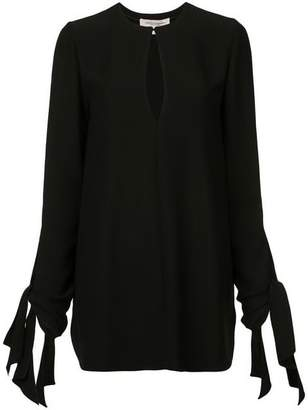 Carolina Herrera Key Hole Blouse