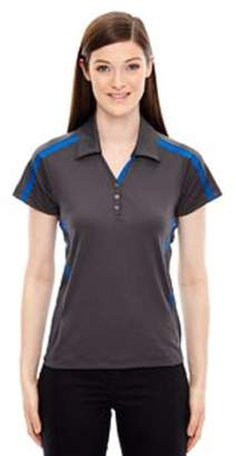 Ash City - North End Sport Red Ladies' Accelerate UTK cool?logik Performance Polo - BLKSILK 866 - L 78667