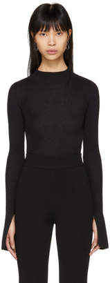 Stella McCartney Black Knit Turtleneck