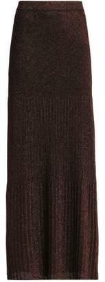 Missoni Metallic Stretch-Knit Maxi Skirt