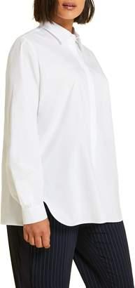 Marina Rinaldi Poplin Shirt