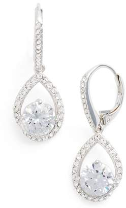 Nadri Cubic Zirconia Pear Drop Earrings