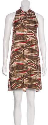 Veronica Beard Silk Knee-Length Dress