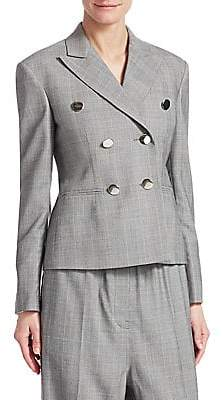 Calvin Klein Women's Glen Plaid Wool Jacket