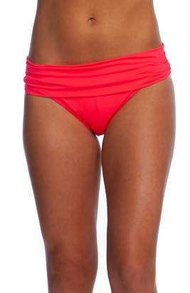 La Blanca Shirred Banded Hipster Bikini Bottoms