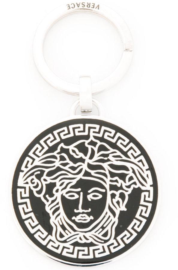 VersaceVersace Greca Medusa keyring
