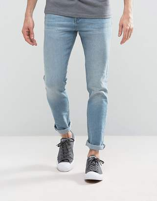 Loyalty And Faith Pillar Slim Stretch Jeans in Light Wash