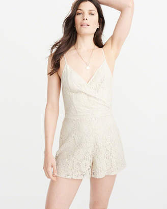 Abercrombie & Fitch Lace Romper