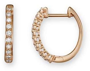 Bloomingdale's Diamond Hoop Earrings in 14K Rose Gold, .30 ct. t.w. - 100% Exclusive