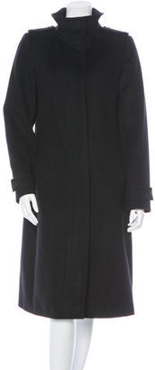 Burberry Belted Wool Coat $355 thestylecure.com