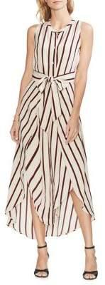 Vince Camuto Striped A-Line Dress