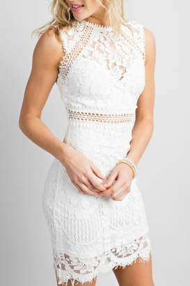 Pretty Little Things Crochet Lace Dress