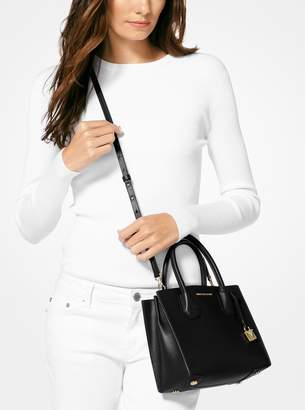 MICHAEL Michael Kors Mercer Sexy Perforated Leather Crossbody