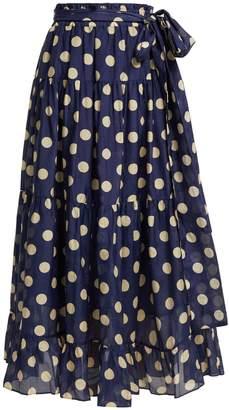 Lee MATHEWS Minnie polka-dot skirt