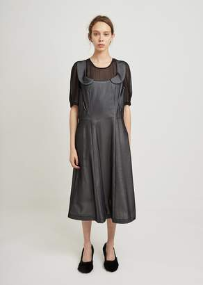 Comme des Garcons Cupra Chiffon Cotton Cloth Dress