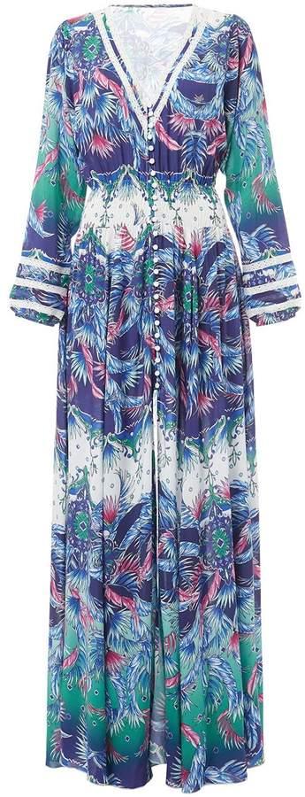 "Kleid ""Caroline ́ ́ Multicolor | Blau"