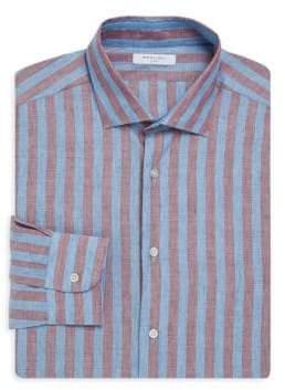 Boglioli Slim-Fit Stripe Dress Shirt