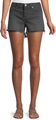 Levi's Premium Wedgie High-Rise Denim Cutoff Shorts