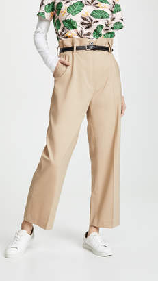 3.1 Phillip Lim Paper Bag Wool Cropped Pants