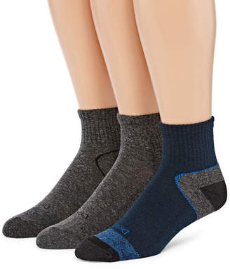 Dickies 3 Pair Quarter Socks-Mens