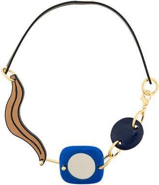 jewelry product in lyst black necklace normal marni