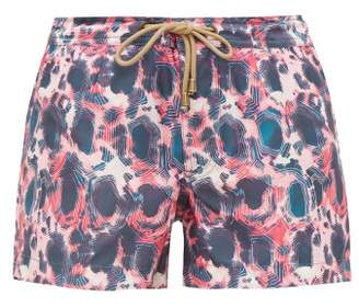 Thorsun Athena Tie Dye Shorts - Womens - Pink Multi