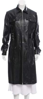 Christian Dior Leather Convertible Jacket